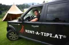 Rent-a-Tipi, Zelt-Events